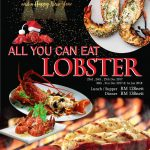 JOGOYA Christmas and New Year ALL You Can Eat Lobster Promotion 圣诞节+新年促销!