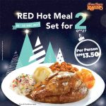 Kenny Rogers ROASTERS Red Hot Meal Set for only RM13.50 烤鸡套餐只要RM13.50!