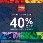 LEGO Playsets at 40% Discount 乐高折扣40%!
