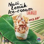 MarryBrown Nasi Lemak Ice Cream at RM3.50 椰浆饭口味雪糕只要RM3.50!