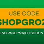 LAZADA Groceries Promo Code 额外折扣码!