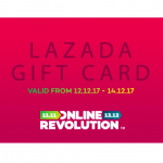 LAZADA Gift Card at 20% Discount 现金礼卡折扣高达20%!