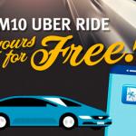 UBER RM10 Promo Code 价值RM10折扣码!