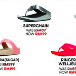 FitFlop Sale: Price from only RM99 名牌凉鞋价钱从RM99起!