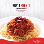 Secret Recipe Sarawak Buy 1 FREE 1 Promo 买一送一促销!