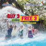 Sunway Lagoon Entrance Ticket Buy 3 FREE 3 Promo 买三送三促销!