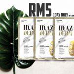 ID.AZ GOLDEN Mask from KOREA RM5 Crazy Deal 原价RM19.90现在一片只需RM5只限今天!