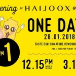 Haijoox Signature CowDung Cheese Tarts for only RM1 Promo 起司挞只要RM1促销!