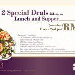 JOGOYA Buffet at only RM22++ (Second Pax) 日式自助餐从RM22起!