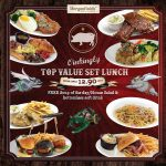 Morganfield's Top Value Set Lunch from only RM12.90 nett 超值午餐只要RM12.90!