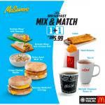 McDonald's Breakfast at RM5.99 only EVERYDAY 麦当劳早餐只要RM5.99,每天都有哦!