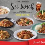 Secret Recipe Set Lunch from only RM17.90 午餐套餐只要RM17.90!