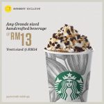 Starbucks Grande Sized Handcrafted Beverage @ RM13 Promo 星巴克饮料促销!
