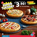 Domino's Samyeang Pizza at RM3.90 only 韩式风味披萨只要RM3.90!