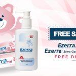Ezerra Plus + Extra Gentle Cleanser Giveaway 寄出免费婴儿sample,到你家!