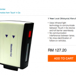 SmartTAG at only RM112.20 一架SmartTAG只要RM112.20!