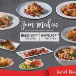 Secret Recipe Starter + Main Course + Drinks for only RM39.90 for 2 pax 开胃菜+主食+饮料,两人只要RM39.90!