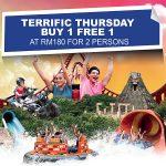 Sunway Lagoon Entrance Ticket Ticket Buy 1 FREE 1 Promo 双威水上乐园入门票买一送一促销!