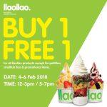 llaollao Buy 1 FREE 1 Promo 买一送一促销!