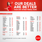 AirAsia Flight @ 70% Off 亚航机位折扣70%!