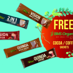 BMS Organics O'Forest Quinoa Cocoa or Quinoa White Coffee Sample Giveaway 送出免费可可或咖啡sample!