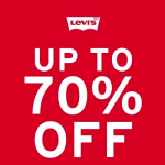 Levi's Sale: Up to 70% Off 清仓大减价:折扣高达70%!