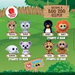 McDonald's Become A Boo Zoo Keeper Happy Meal Toys Giveaway 送出免费动物公仔!