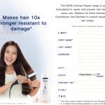 Delivers FREE DOVEIntense Repair Conditioner Sample to your doorstep 寄出免费润丝sample,到你家!