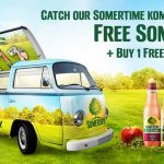 Somersby FREE Sample + Buy 1 FREE 1 Vouchers Giveaway 请你喝免费SOMERSBY+买一送一卷!