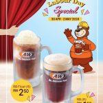 A&W Root Beer at RM1.50 Promo 一杯RB只要RM1.50促销!