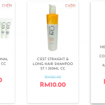 Cheri Cheri Clearance Sale: Price from only RM10 清仓大减价:价钱从RM10起!