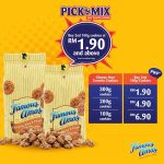 Famous Amos Cookies RM1.90 Promo 曲奇只要RM1.90促销!