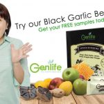 Genlife Black Garlic Beverage Sample Giveaway 免费送出黑蒜姜汁饮料!