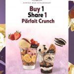 Haagen Dazs Parfait Crunch Buy 1 Share 1 Promo 买一送一促销!