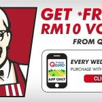 FREE RM10 KFC Voucher Giveaway 送出免费RM10现金劵!