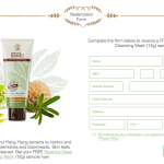 Botanics Deep Cleansing Wash Sample Giveaway 送出免费试用品!