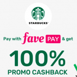 Starbucks 100% Cash Back Promo 给你 100% Cash Back!