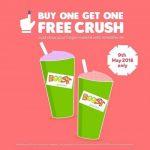 Boost Juice Bars Buy 1 FREE 1 Promo 果汁买一送一促销!