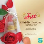 Clinelle CaviarGold Pamper Kit Giveaway 送出免费护肤品!