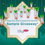 Ellgy Plus Sample Giveaway 送出免费试用品!