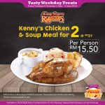 Kenny Rogers ROASTERS Kenny's Chicken & Soup Meal for only RM15.50 烤鸡餐一人只要RM15.50!