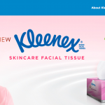 Kleenex Skincare Facial Tissue With Shea Butter Extract Sample Giveaway 寄出免费纸巾,到你家!
