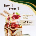 MAGNUM Ice Cream Buy 1 FREE 1 Promo 雪糕买一送一促销!