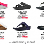 Fitflop Sale: Price from only RM139 清仓大减价:价钱从RM139起!