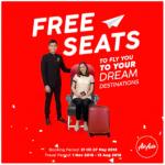 AirAsia FREE Seats Promo (Nov 2018 – Aug 2019) 亚航免费机位促销又来啦!
