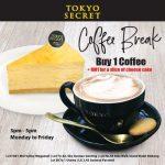 Tokyo Secret Cheese Cake RM1 Promo 起司蛋糕RM1促销!