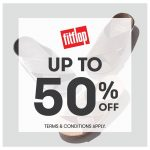 Fitflop 50% Off Promo 给你折扣高达50%!
