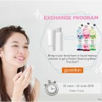 BIORE Perfect Cleansing Water Trial Size Giveaway 送出免费洁面水试用品!