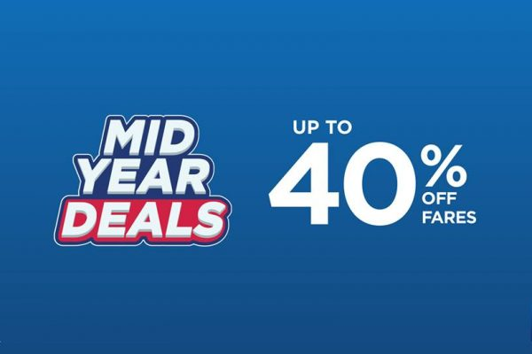 Malaysia Airlines Mid Year Deal: Up to 40% Off Fares 马航年中促销:折扣高达40%!