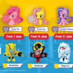 McDonald's Happy Meal Toys June 2018 麦当劳六月份免费玩具!